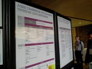 Agile Cambridge programme