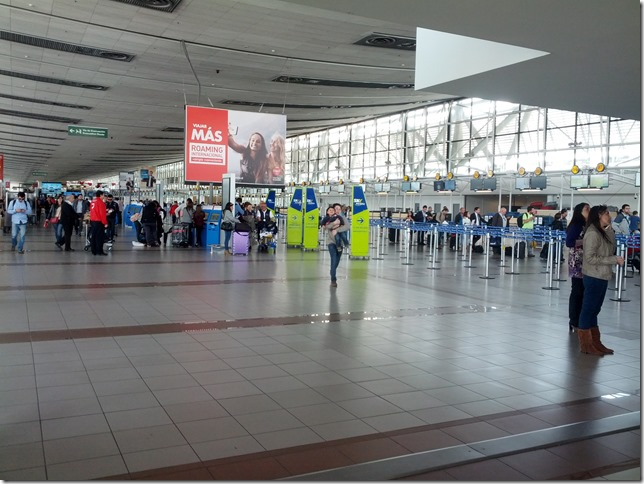 Santiago airport departures