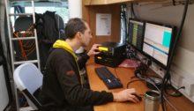 Rob M0VFC running RTTY