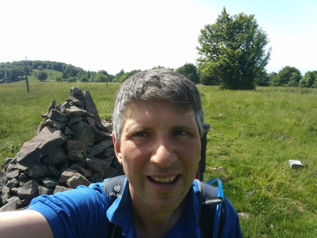 Me at the Cairn